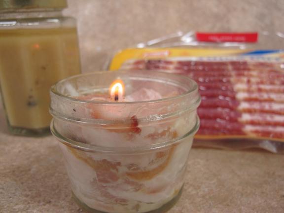 bacon-candle
